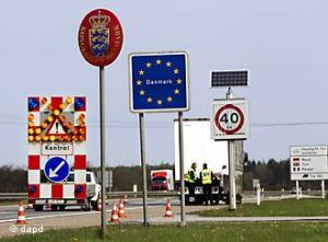 Denmark border crossing