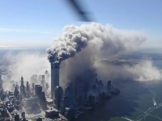 New York in smoke
