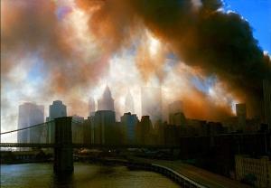 Dusk settles over New York