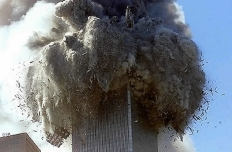South Tower implodes