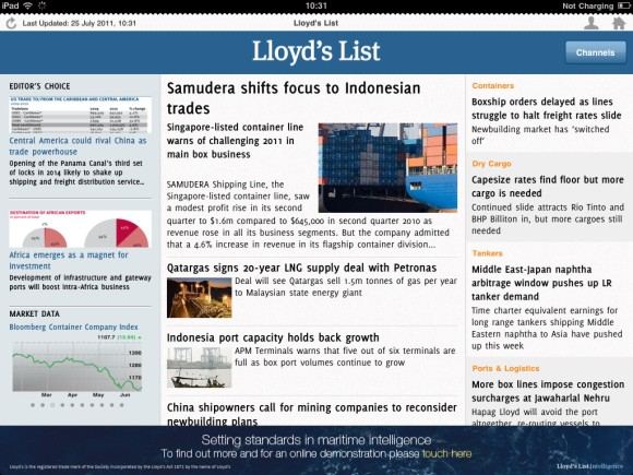 Lloyds List iPhone-iPad App2