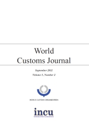 World Customs Journal - Sept 2011