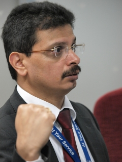 Satya Prasad Sahu - Technical Officer at the WCO provided members of SACU, SADC and the EAC comprehensive guidelines for the development of the GNC Utility Block concept in Africa (February 2012)