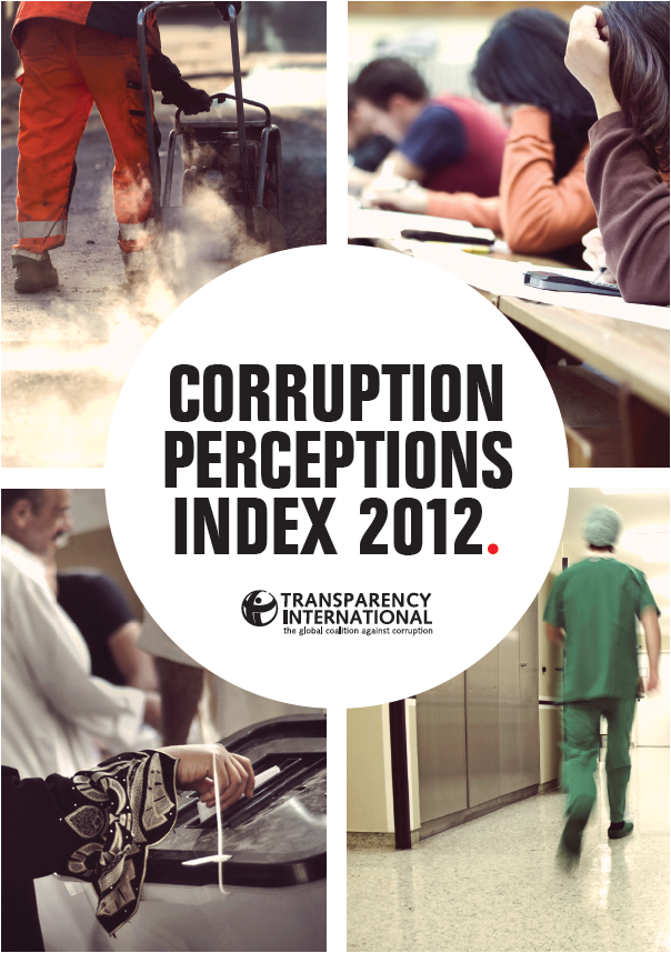 Corruption Perceptions Index 2012