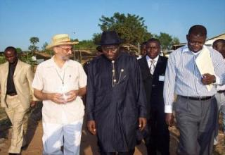 Is Nigerian's President Goodluck Jonathan on the road to success?  - Photograph by IITA Image Library