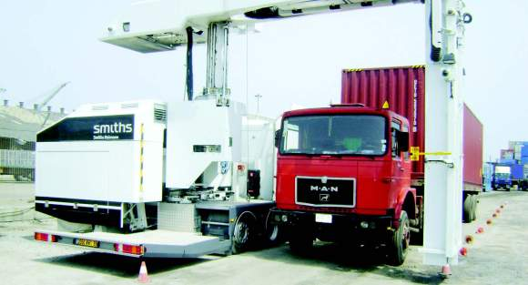 Mobile-scanner installed at Apapa Port as part of DI contract