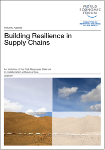 WEF - Building Resilience in Supply Chains