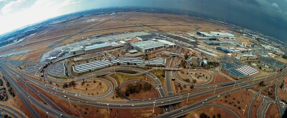 Oliver Reginald Tambo International Airport (east of Johannesburg) to become Africa's first aerotropolis