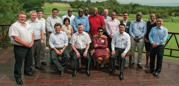 Delegates who attended the first BRICS Customs Heads of Customs Meeting [SARS]