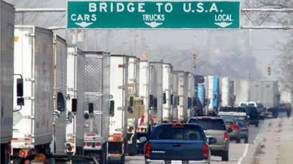 """""""Uncertain Times"""" - U.S. Homeland Security Secretary Janet Napolitano said earlier this week that her department would be slashing 5,000 border-patrol agents when the cuts go through, which would ultimately slow some of the busiest crossings between Canada and the U.S."""