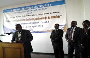 Zambia Customs to Business Forum (ZCBF) launched on April 26th, 2013.