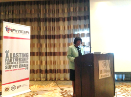 Namibia Customs Business Forum Launch - 22nd May 2013 in Windhoek, Namibia.