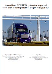 White Paper - GPS-RFID systems for cross-border management of freight consignments