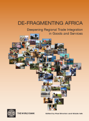 Defragmenting Africa WB