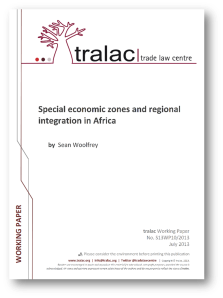 SEZ and Regional Integration in Africa