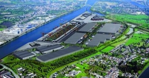 Liege Trilogiport is scheduled to open for business in the final half of 2015 (Picture: Liege Ports Authority)