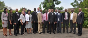 Group photo of the SACU Steering Committee at its 9th Meeting
