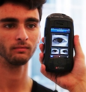 Iris Scanner (Picture: Ben Mortimer)