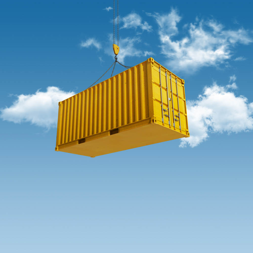 Shipping Container Port 1000 x 1000