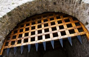 Cahir Castle Portcullis by Kevin King
