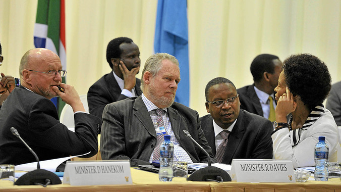 South Africa has been courting major player Botswana's support for changes to SACU.