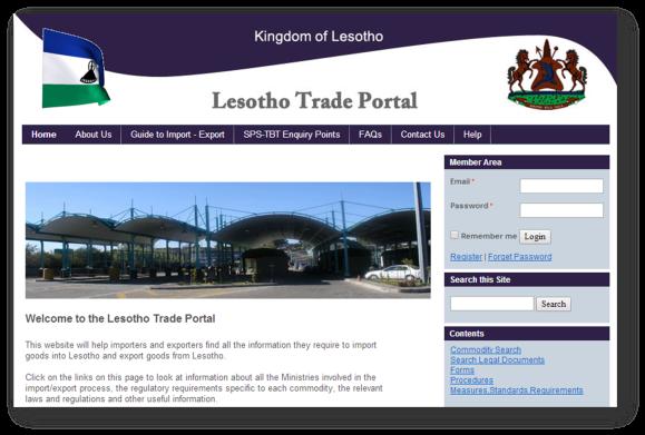 LRA Trade Portal