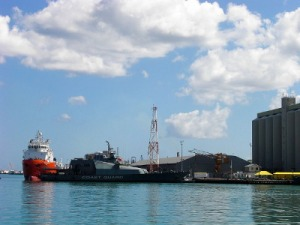 The Mauritius Coast Guard flagship MCGS Vigilant [www.defenceweb.co.za]
