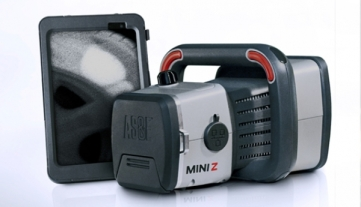 The sleek design of the AS&E Mini Z.