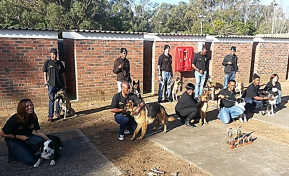 Eastern Cape DDU Team and Dogs – Recently established