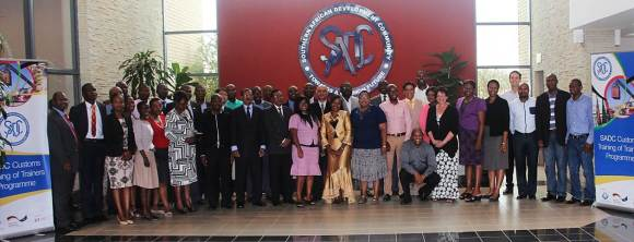 SADC organizes a Customs Training of Trainers Course on NTBs in cooperation with the WCO [SADC]