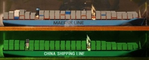 Worlds Largest Container ship 2