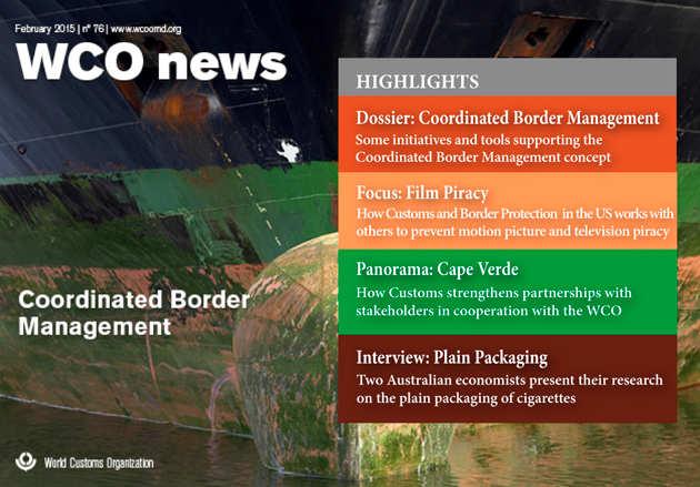 WCO News - Coordinated Border Management Feb 2015