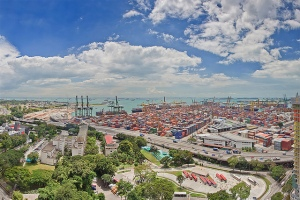 Port of Singapore [Picture credit - singaporevisablog.wordpress.com]