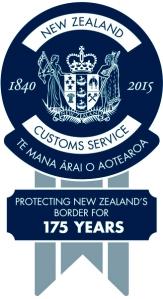 Customs 175 Years Seal