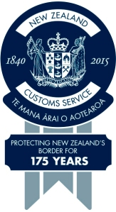 Customs 175 Years Seal