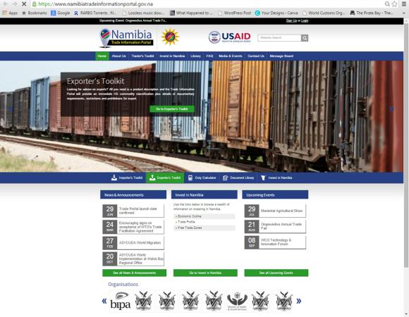 Namibian Trade Portal