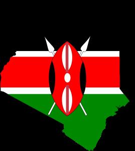 Kenya_flag_map