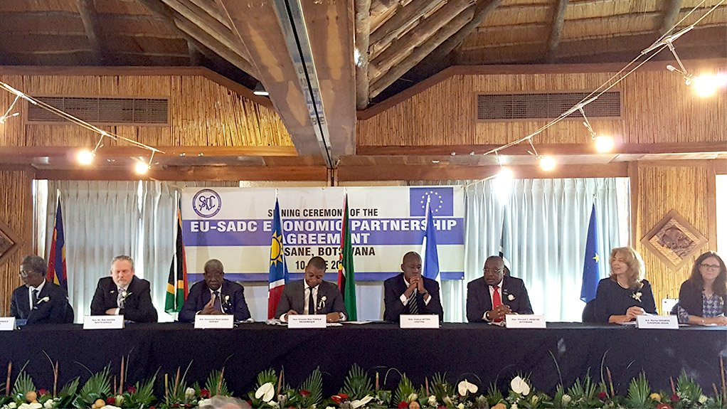 Historic Economic Partnership Agreement Between Eu And Sadc What