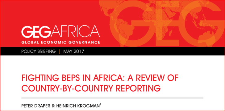 Fighting BEPs in Africa