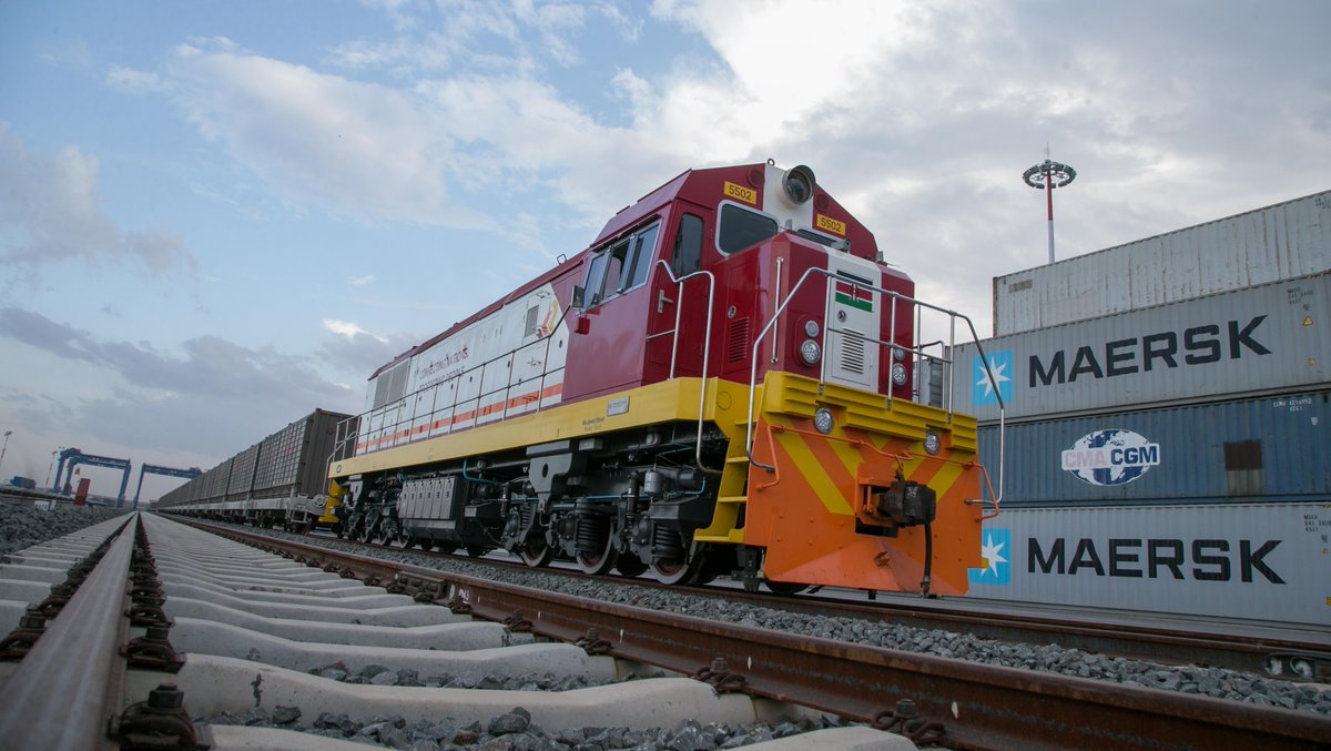 Kenya Standard Gauge Cargo Train
