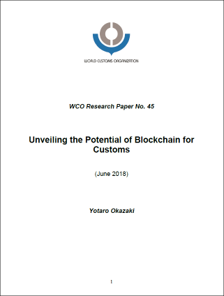 WCO-Unveiling the Potential of Blockchain in Customs